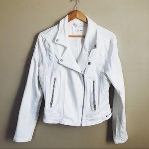 Blank NYC Cotton Moto Jacket